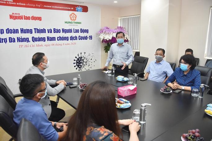 Gần 5 tỉ đồng hỗ trợ Đà Nẵng, Quảng Nam phòng, chống Covid-19 - Ảnh 4.