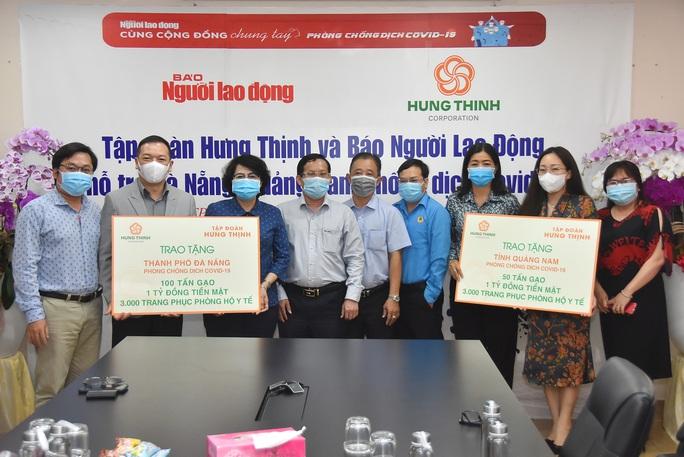 Gần 5 tỉ đồng hỗ trợ Đà Nẵng, Quảng Nam phòng, chống Covid-19 - Ảnh 5.