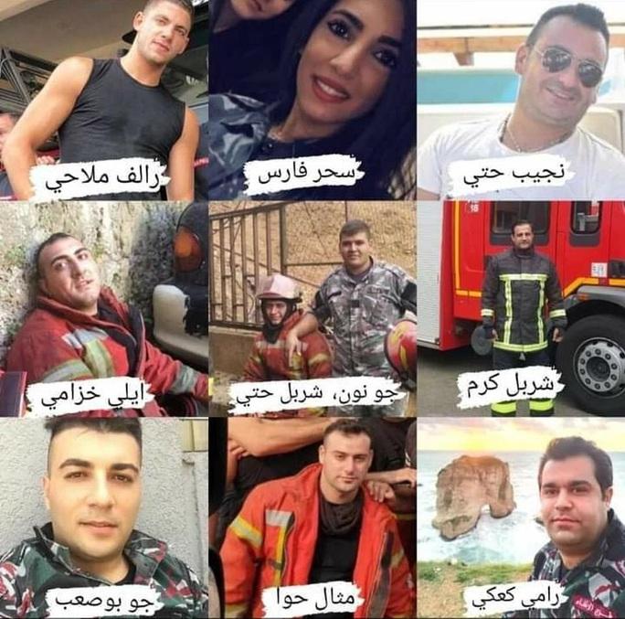Bức ảnh biểu tượng trong vụ nổ ở Lebanon - Ảnh 2.