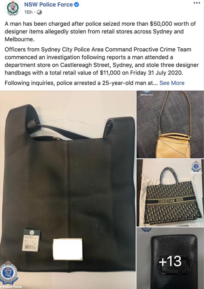 Fashion influencer Việt bị bắt tại Úc vì tội trộm cắp - Ảnh 4.