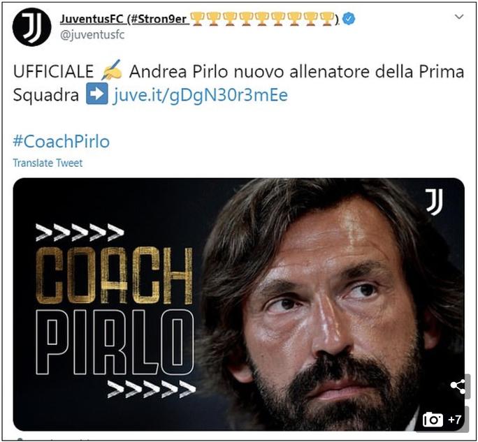 Thua thảm cúp châu Âu, Juventus bẻ ghế HLV Maurizio Sarri - Ảnh 3.