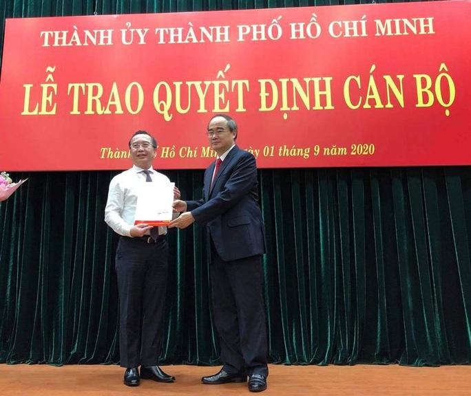 Bổ nhiệm ông Huỳnh Khắc Điệp giữ chức Chánh Văn phòng Thành ủy TP HCM - Ảnh 2.