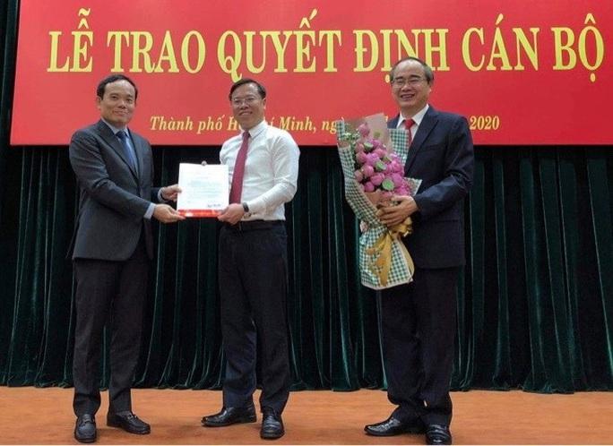 Bổ nhiệm ông Huỳnh Khắc Điệp giữ chức Chánh Văn phòng Thành ủy TP HCM - Ảnh 1.