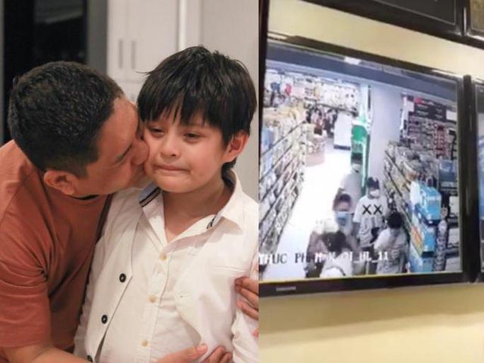 Con trai vợ chồng Thanh Thuý - Đức Thịnh bị dàn cảnh cướp điện thoại - Ảnh 1.
