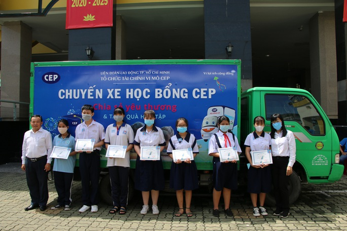 Chương trình Học bổng CEP 2020 - Chia sẻ yêu thương - Ảnh 3.