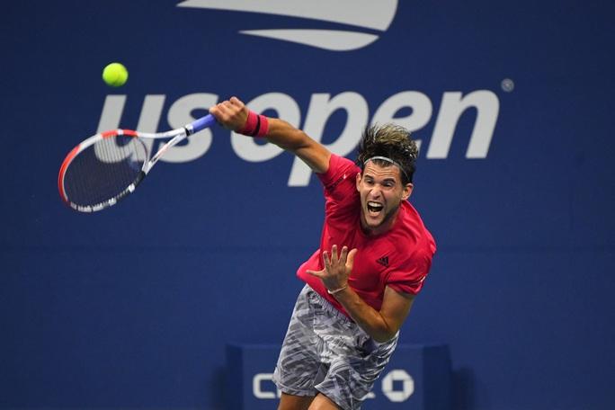 Dominic Thiem thắng dễ đàn em, vào bán kết US Open 2020 - Ảnh 3.
