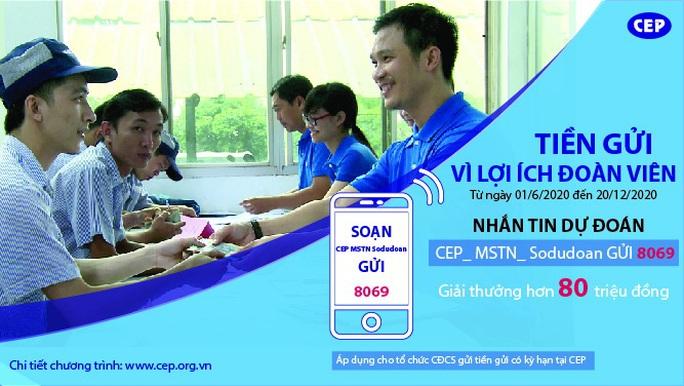 CEP triển khai chương trình khuyến mãi Tiền gửi - Vì lợi ích đoàn viên - Ảnh 1.