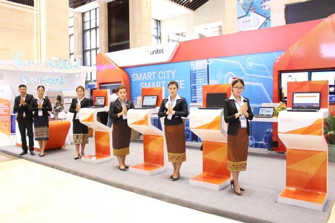 Viettel tại Lào giành giải thưởng quốc tế - Ảnh 1.