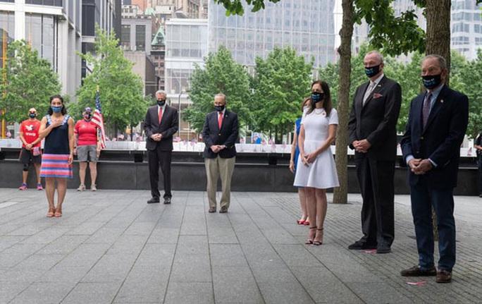 Mỹ: Covid-19 phủ bóng lễ tưởng niệm sự kiện 11-9 - Ảnh 1.