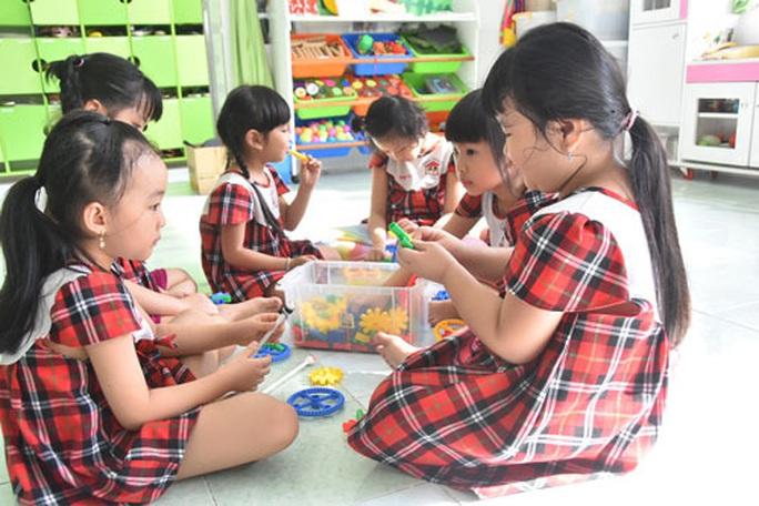 Nhiều ưu đãi cho giáo dục mầm non - Ảnh 1.