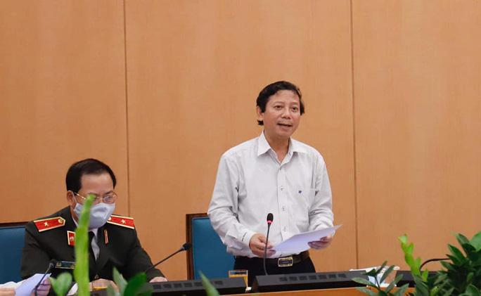 Lãnh đạo CDC Hà Nội xin vắng họp ở nhà làm công tác đấu thầu nhưng mãi chả thấy đâu - Ảnh 1.