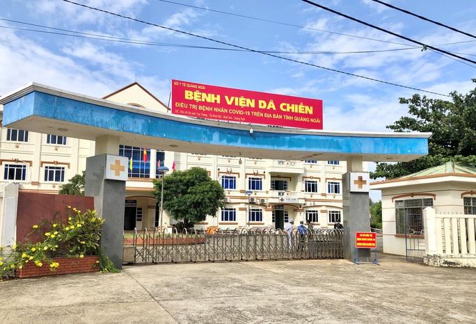 Xem xét dừng hoạt động Bệnh viện dã chiến tỉnh Quảng Ngãi - Ảnh 1.