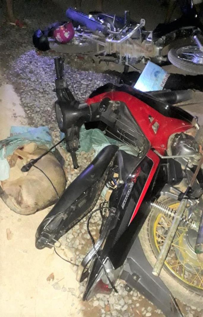 3 thanh niên trộm chó bị dân vây bắt, đánh hội đồng nhừ tử - Ảnh 3.
