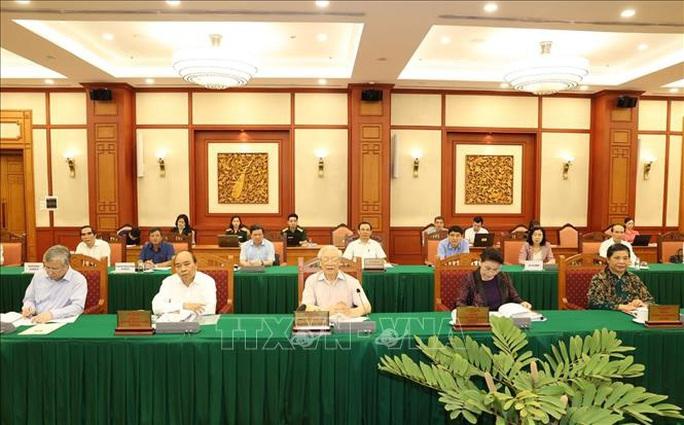Tổng Bí thư, Chủ tịch nước chủ trì buổi làm việc với Thường vụ Quân ủy Trung ương - Ảnh 3.