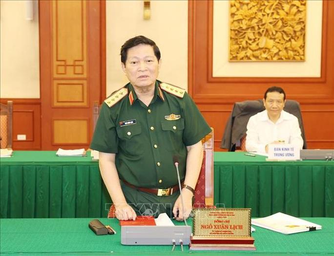 Tổng Bí thư, Chủ tịch nước chủ trì buổi làm việc với Thường vụ Quân ủy Trung ương - Ảnh 8.