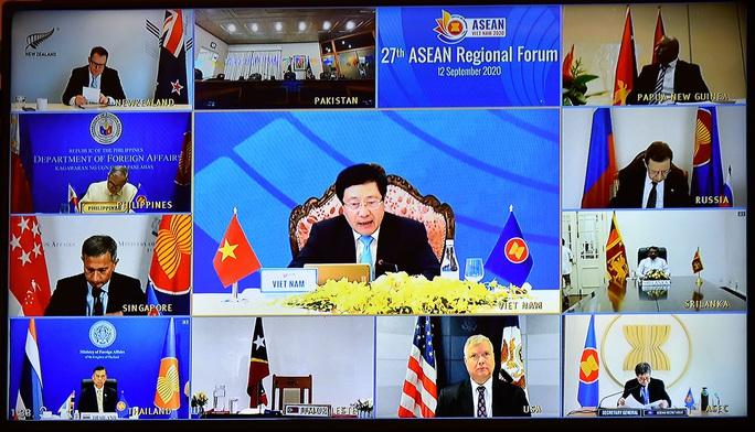 Diễn đàn ARF: Việt Nam nhấn mạnh yêu cầu thượng tôn pháp luật ở Biển Đông - Ảnh 2.