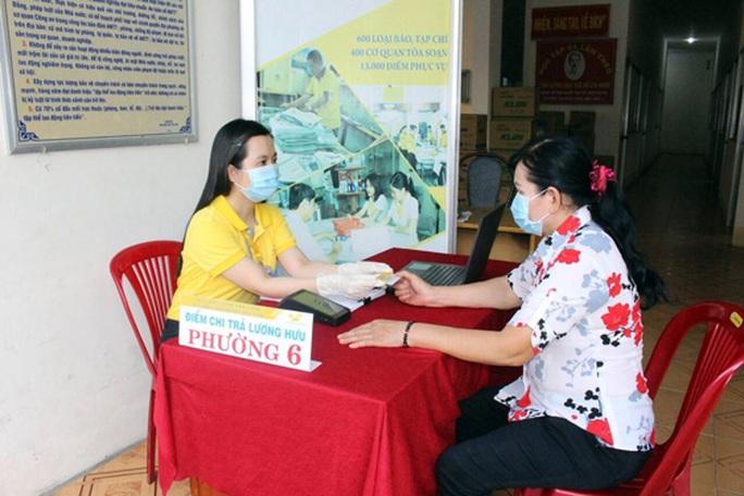Khuyến khích nhận lương hưu, trợ cấp qua thẻ ATM - Ảnh 1.