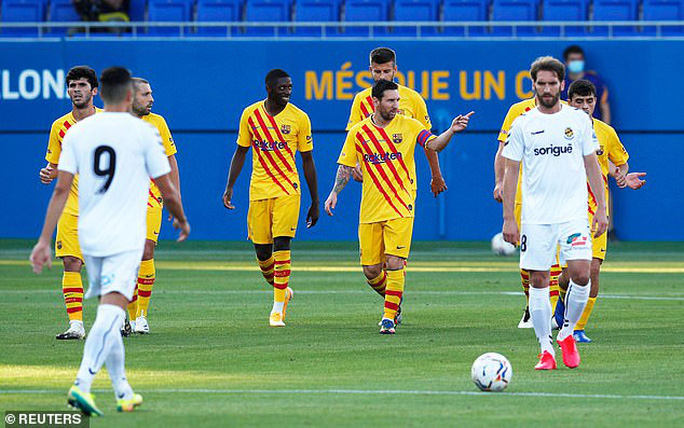 Messi tái xuất, nhường Griezmann ghi bàn cho Barca - Ảnh 5.