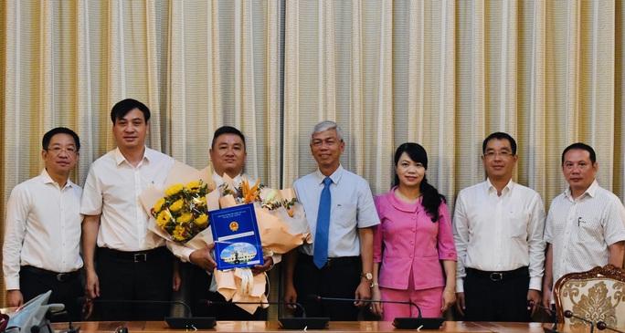 UBND TP HCM bổ nhiệm nhân sự lãnh đạo 2 đơn vị - Ảnh 1.