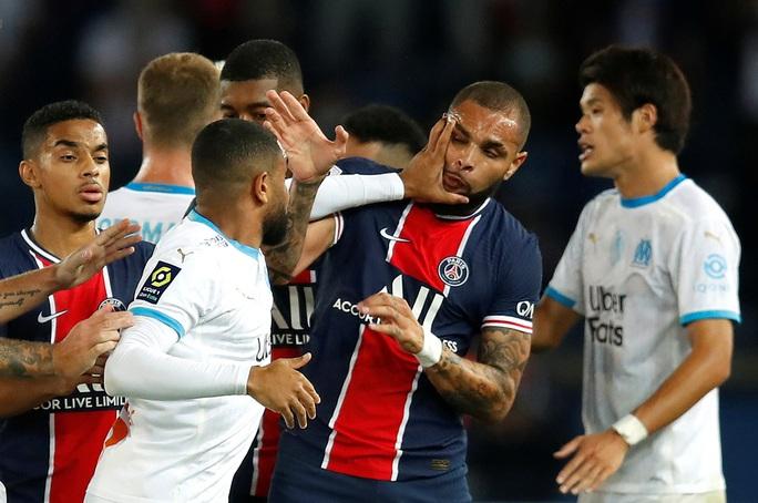 Mưa thẻ đỏ ngày Neymar tái xuất, PSG gục ngã trước Marseille - Ảnh 9.
