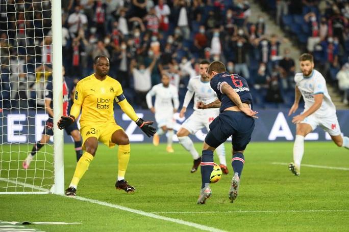 Mưa thẻ đỏ ngày Neymar tái xuất, PSG gục ngã trước Marseille - Ảnh 5.