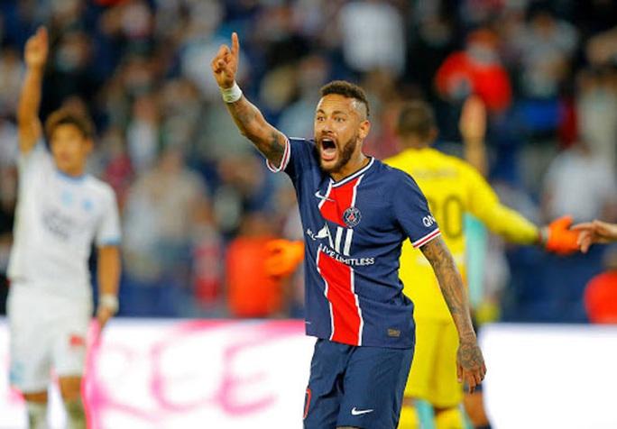 Mưa thẻ đỏ ngày Neymar tái xuất, PSG gục ngã trước Marseille - Ảnh 2.