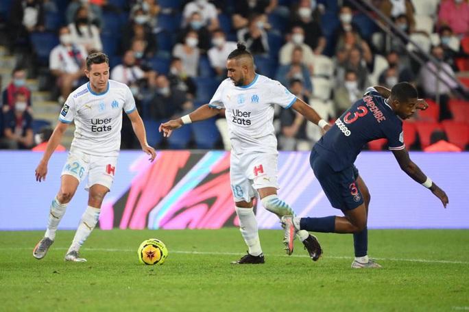 Mưa thẻ đỏ ngày Neymar tái xuất, PSG gục ngã trước Marseille - Ảnh 3.