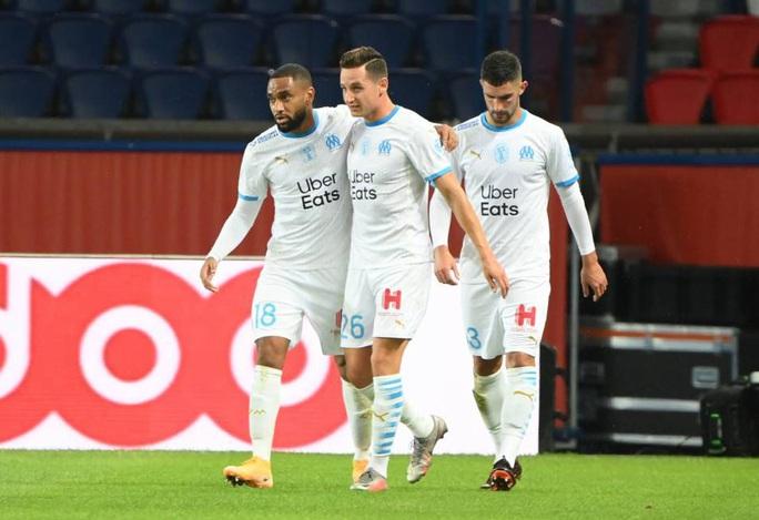 Mưa thẻ đỏ ngày Neymar tái xuất, PSG gục ngã trước Marseille - Ảnh 4.