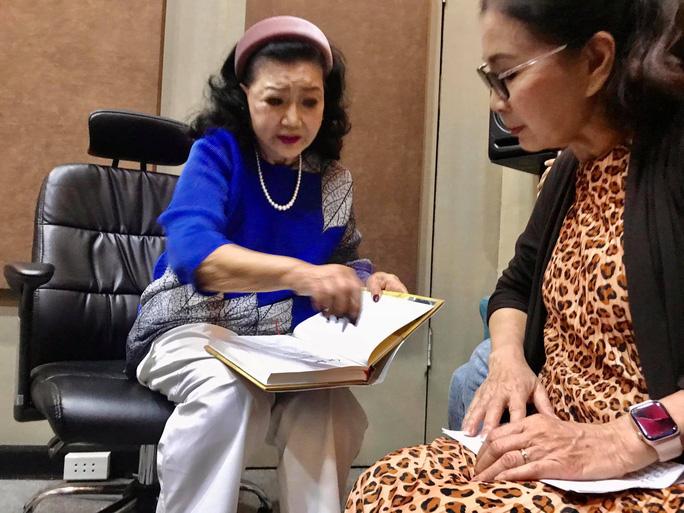 Thâm nhập hậu trường thu âm hồi ký Kỳ nữ Kim Cương cùng 3 nghệ sĩ - Ảnh 5.