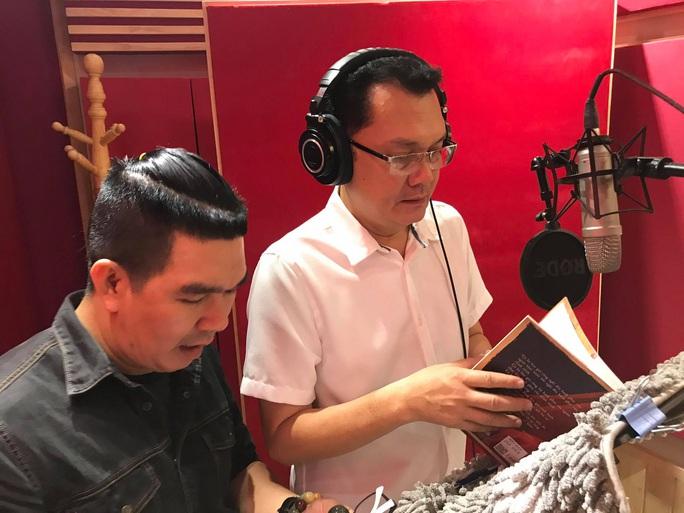 Thâm nhập hậu trường thu âm hồi ký Kỳ nữ Kim Cương cùng 3 nghệ sĩ - Ảnh 6.