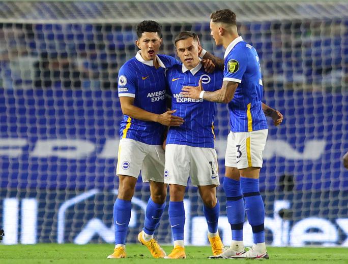 Hậu vệ lập công, Chelsea đại thắng Brighton vào top 3 - Ảnh 5.