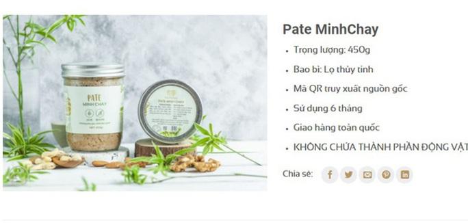 Thêm 6 người mắt mờ, tức ngực... khi ăn pate Minh Chay - Ảnh 1.