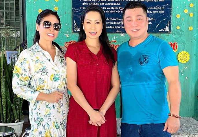 Lý Hùng, Trịnh Kim Chi sửa chữa Khu dưỡng lão nghệ sĩ - Ảnh 1.