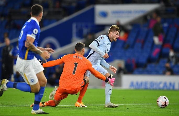 Hậu vệ lập công, Chelsea đại thắng Brighton vào top 3 - Ảnh 2.