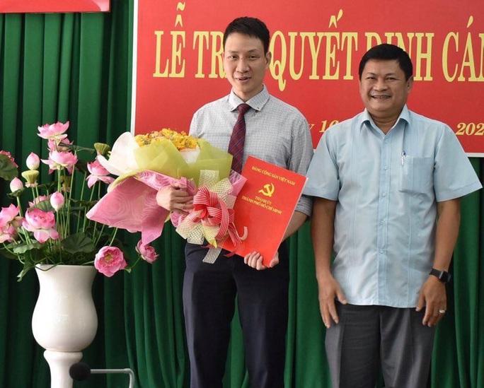 Ông Trương Trung Kiên giữ chức Phó Bí thư Quận ủy Thủ Đức - Ảnh 1.