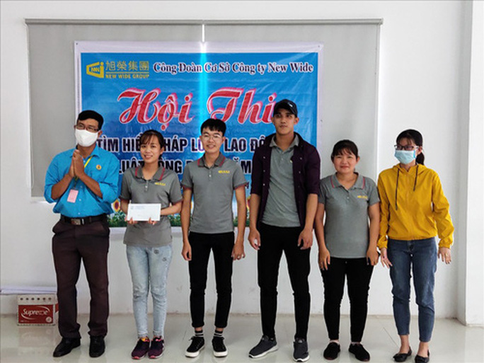 Tây Ninh: Nâng kiến thức pháp luật cho công nhân - Ảnh 1.