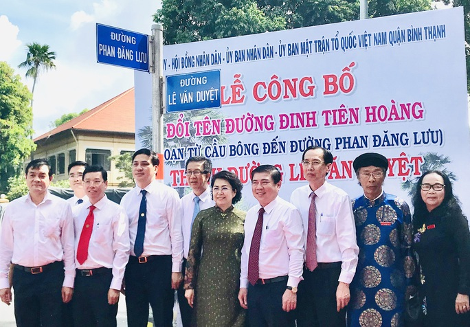 TP HCM: Chính thức có tên đường Lê Văn Duyệt cạnh Lăng Ông - Ảnh 1.