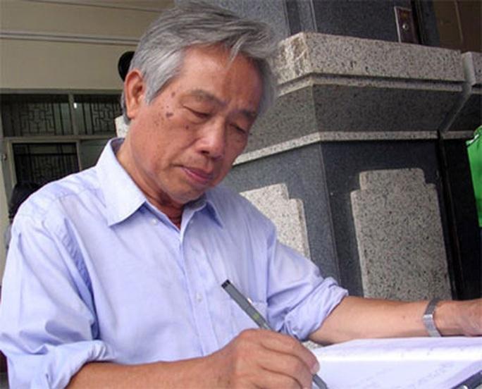 Vĩnh biệt nhà báo Đinh Phong! - Ảnh 1.
