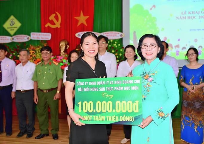 Trung tâm nuôi dạy trẻ khuyết tật Võ Hồng Sơn khai giảng năm học mới - Ảnh 6.