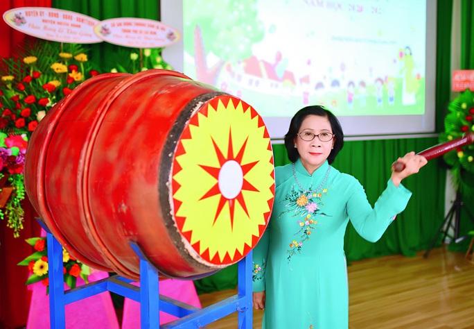 Trung tâm nuôi dạy trẻ khuyết tật Võ Hồng Sơn khai giảng năm học mới - Ảnh 1.