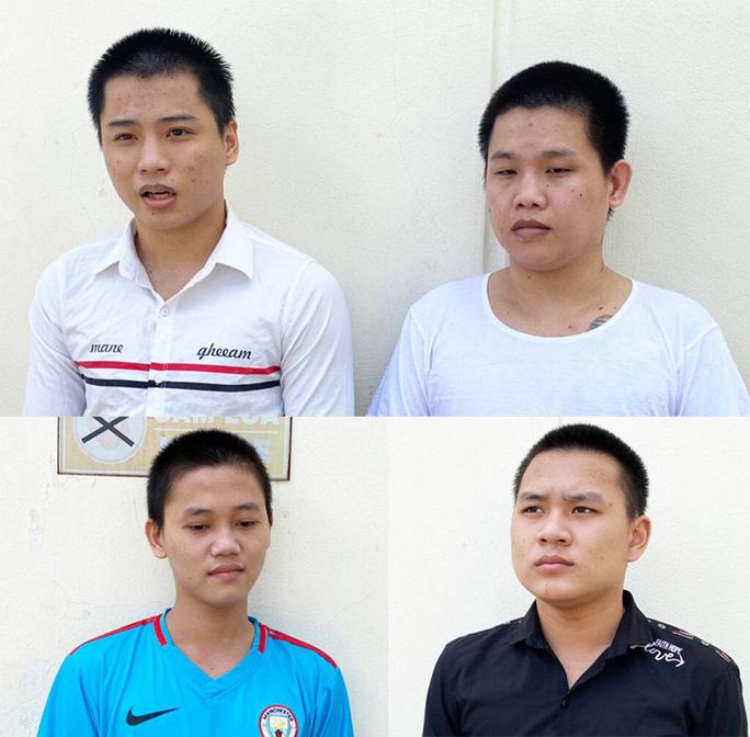 Chân dung 4 tên cướp giật điện thoại ở Bình Tân - Bến Lức - Ảnh 1.