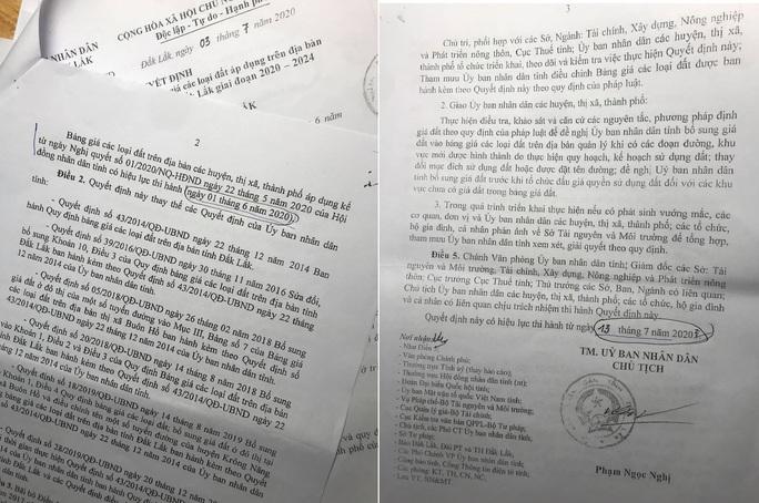 Tréo ngoe quyết định bảng giá đất của tỉnh Đắk Lắk, dân dài cổ chờ nộp thuế - Ảnh 1.