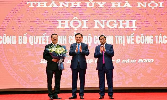 Bộ trưởng Chu Ngọc Anh làm Phó Bí thư Thành ủy Hà Nội - Ảnh 2.