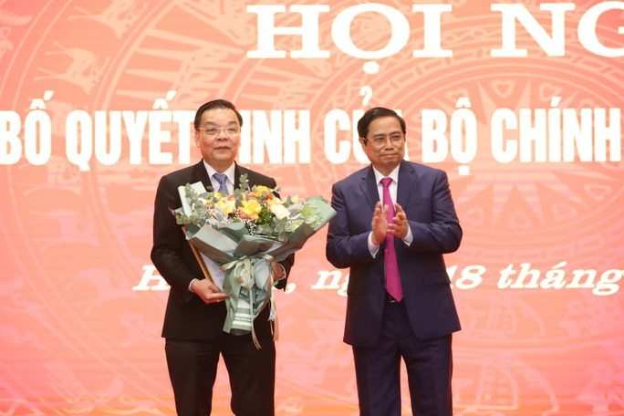 Tân Phó Bí thư Thành ủy Hà Nội Chu Ngọc Anh nói gì sau khi nhậm chức? - Ảnh 1.