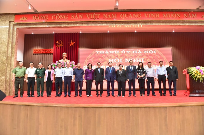 Bộ trưởng Chu Ngọc Anh làm Phó Bí thư Thành ủy Hà Nội - Ảnh 3.