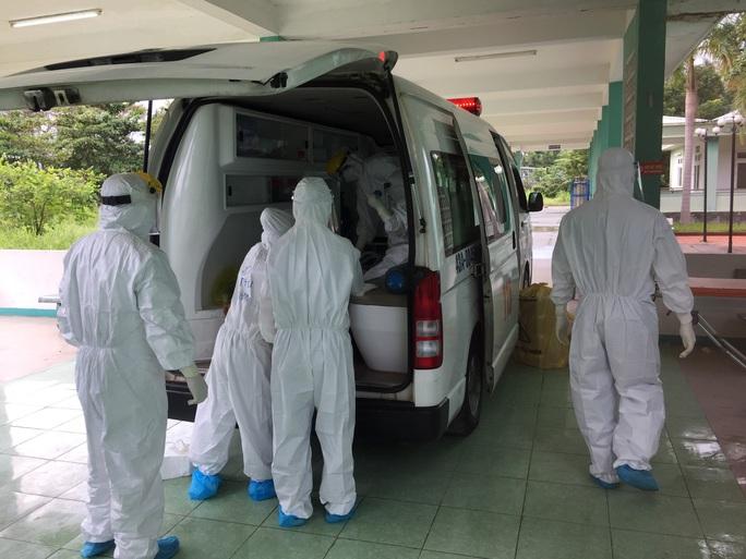 Chuyển bệnh nhân 416 về Bệnh viện Đà Nẵng - Ảnh 1.