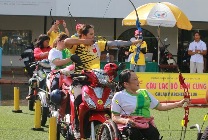 Những hình ảnh Ngày hội bắn cung thể thao người khuyết tật - Cúp Galaxy Paragames 2020 - Ảnh 7.