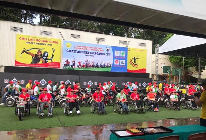 Những hình ảnh Ngày hội bắn cung thể thao người khuyết tật - Cúp Galaxy Paragames 2020 - Ảnh 1.