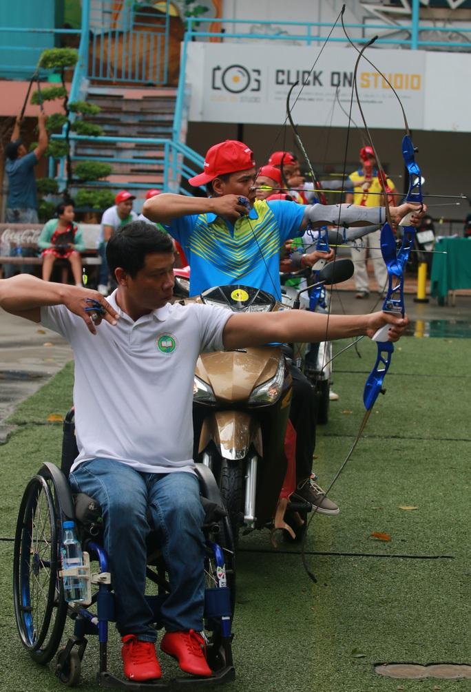 Những hình ảnh Ngày hội bắn cung thể thao người khuyết tật - Cúp Galaxy Paragames 2020 - Ảnh 11.