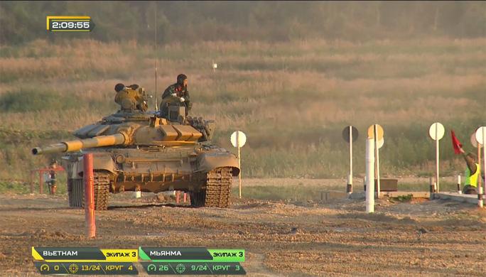 Thua Myanmar, xe tăng Việt Nam vẫn mơ vé chung kết Army Games 2020 - Ảnh 4.